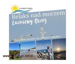 Pobyt nad morzem w domkach w Mielenku!